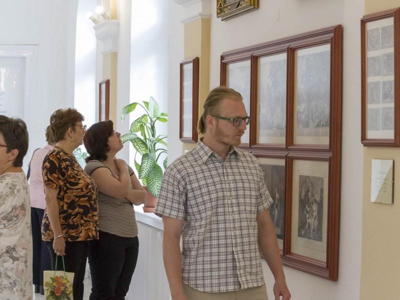 Baldácsy-metszet kiállítás megnyitó